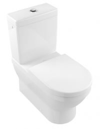 Architectura D BTW Toilet Suite with Soft Closing Seat and Ceramic Plus