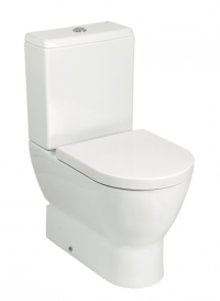 Emma Toilet Suite Back Entry Soft Close Seat