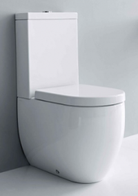 Flo Back to Wall Toilet Suite with Soft Close Seat