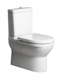O.novo BTW Toilet Suite with Soft Close Seat and Ceramic Plus