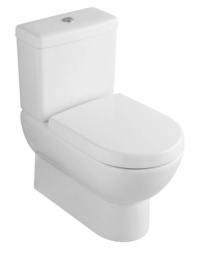 Subway 2.0 BTW Toilet Suite with Soft-Closing Seat and Ceramic Plus