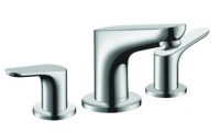 Hansgrohe FOCUS Hob Mounted 3 hole Basin Mixer