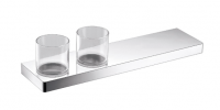 Eneo Shelf with Double Glass Holder 40cm