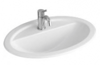Villeroy & Boch Loop & Friends Oval Drop-In Basin with Tap Shelf 660mm