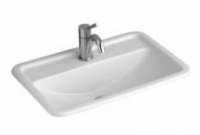 Villeroy & Boch Loop & Friends Rectangle Drop-In Basin with Tap Shelf 600mm