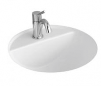 Villeroy & Boch Loop & Friends Round Under-Counter Basin with Tap Shelf 530mm
