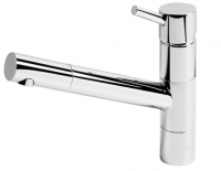 Par Lugano Hob Straight Sink Mixer - 210mm reach ? Swivel