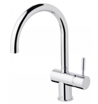 Sussex Voda - Sink Mixer Curved