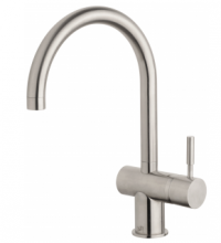 Sussex Voda - Sink Mixer Curved Stainless Steel