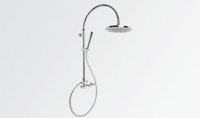 Brodware Yokato Exposed Overhead Shower Set with Handshower