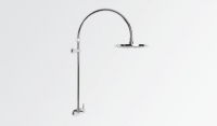 Brodware Yokato Exposed Overhead Shower Set with Single Lever Mixer