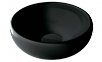 Galassia Ergo 42 Round Above Counter Black Basin