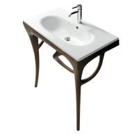 Galassia Ergo 85 Under Basin Iroko Heartwood Structure