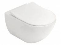 Villeroy & Boch Subway Wall Hung Toilet Suite with Slim Seat